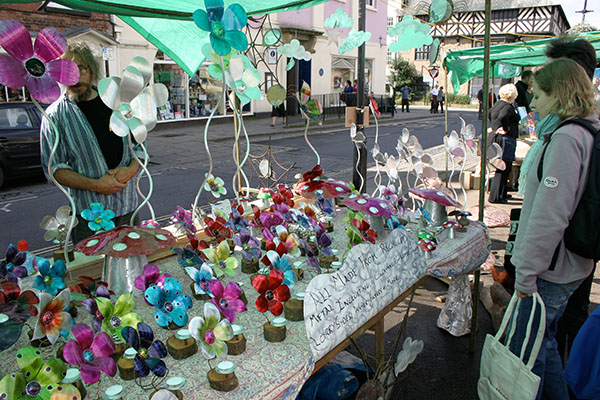 stall at Green Fair